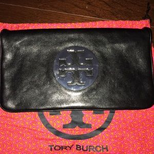 Authentic Tory Burch clutch